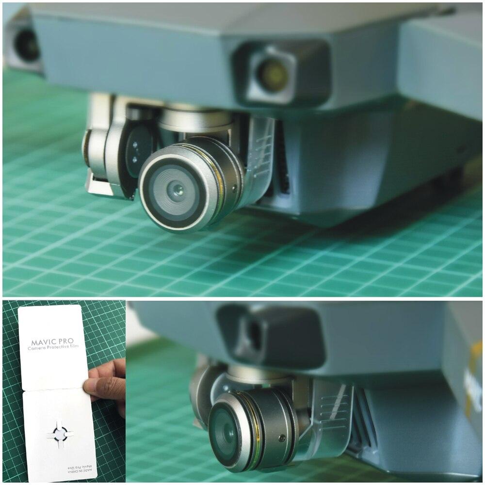 1 шт. стекло камеры защитная пленка объектив защиты стекла Скраб фильм сопротивление анти-палец для Mavic Pro