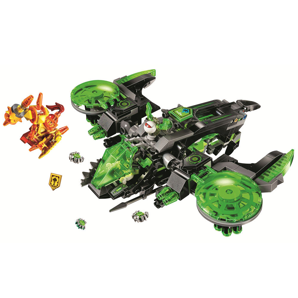 BELA Nexo Knights Berserker Bomber Building Blocks Sets Kits Bricks Classic Model Toys Gift Marvel Compatible Legoe Nexus pogo compatible legoe bela 10704 nexus nexo knights powers pouvoirs aaron lance clay building blocks bricks toys