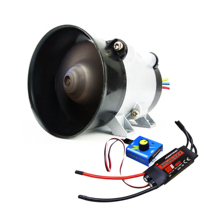 цена на Car Electric Turbine Power Turbo Charger Brushless Hall-free Three-Phase Motor With DC12V 50A Supercharger Driver Controller