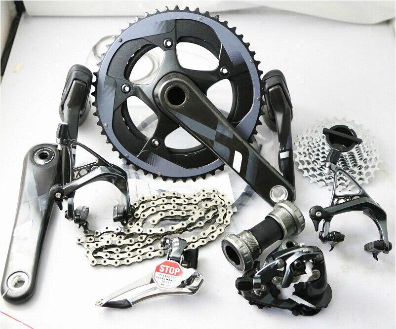 Gruppo originale 11*2 Velocità ultegra road bike bicicletta gruppo a 170mm/172.5mm GXP/BB30, 53/39 50/34 11/28