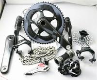Original groupset 11*2 Speed ultegra road bicycle bike groupset 170mm/172.5mm GXP/BB30, 53/39 50/34 11/28
