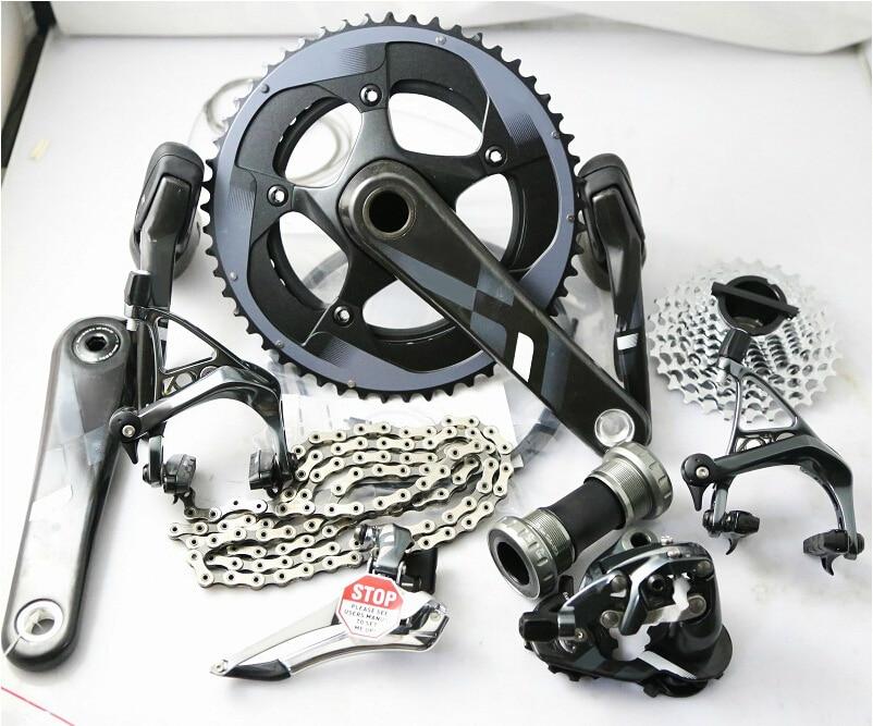 Original groupset 11*2 Vitesses ultegra vélo de route vélo 170mm/172.5mm GXP/BB30, 53/39 50/34 11/28