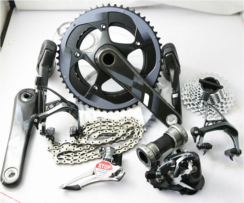 Original groupset 11*2 Vitesses ultegra vélo de route vélo 170mm/172.5mm GXP/BB30, 53/39 50/34 11/28