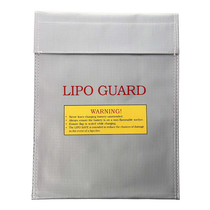 RC Li-Po Battery Fireproof Safety Guard Safe Bag Charge Charging Sack 23x30(China)