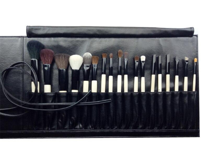 Энергии бренд 11 шт. Профессиональный набор кистей для макияжа Make Up кисти синтетические волосы Алюминий наконечник деревянной ручкой Pincel ... - 3