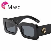 цена на MARC UV400 NEW WOMEN MEN Eyewear designer sunglasses Oculos fashion Sol gafas Plastic Red Gray Leopard print Square Resin