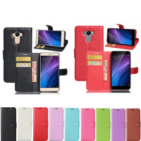 Wallet Style PU Leather Cover Case For Xiaomi Redmi 4 Pro With Stander Card Slots Cover for Xiaomi Redmi 4 Prime Top Quality