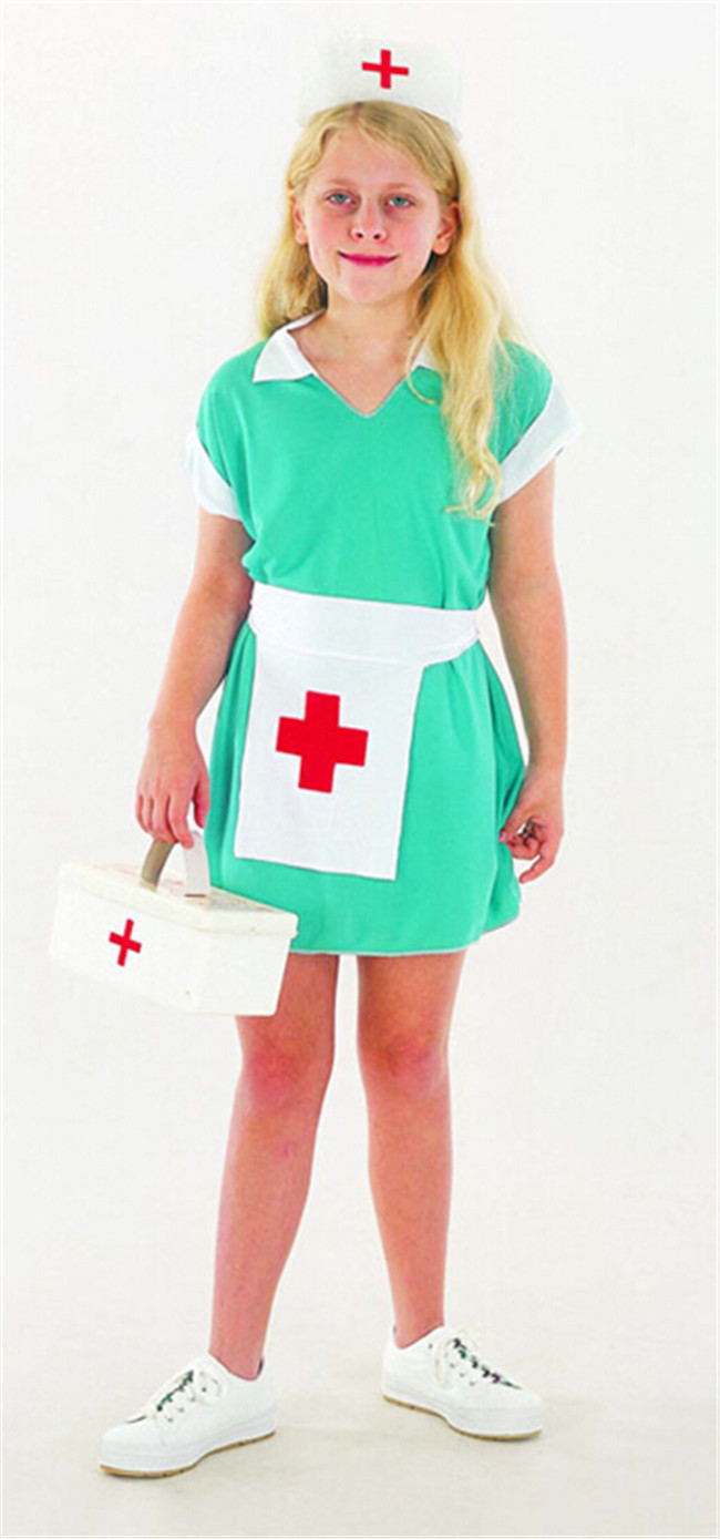 Kids Children Nurse Doctor Medical Fancy Dress Up Girl Costume Outfit Halloween-in Kids Costumes u0026 Accessories from Novelty u0026 Special Use on Aliexpress.com ...  sc 1 st  AliExpress.com & Kids Children Nurse Doctor Medical Fancy Dress Up Girl Costume ...
