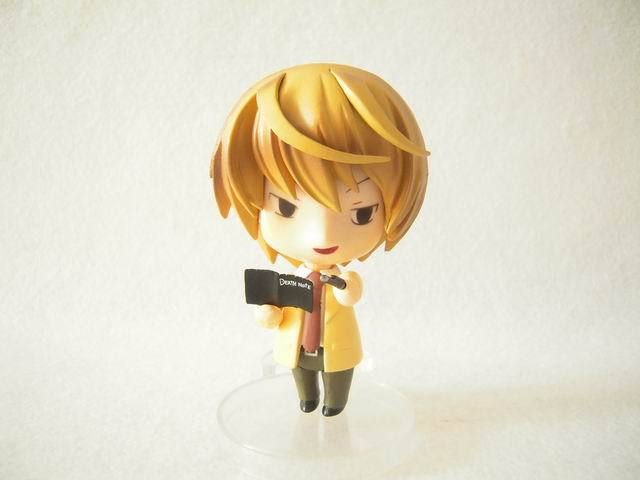NEW hot 10cm Q version Death Note Yagami Light movable Nendoroid Mini Action figure toys collection christmas toy doll with box