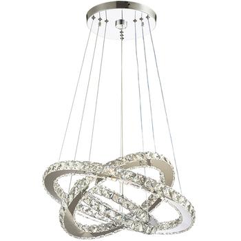 Nowoczesny kryształ led żyrandol lampa do salonu Cristal Lustre żyrandole oświetlenie wisiorek wiszące lampy sufitowe tanie i dobre opinie Winretro Klin Brak Nowoczesne Żarówki led W górę iw dół Żyrandole Crystal chandeliers 90-260 v 120 v 110 v 220 v