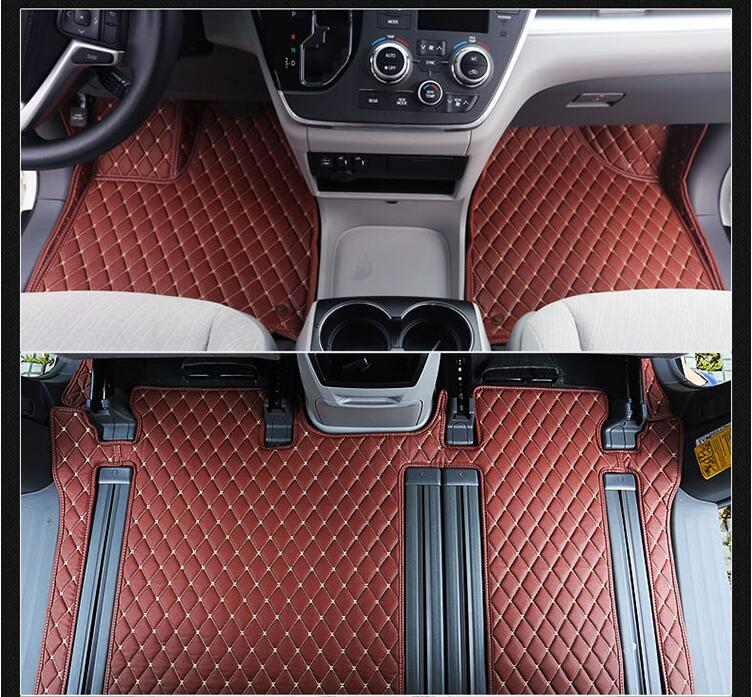 Jioyng 3d Luxury Slush Trunk Floor Mats Foot Pad Mat For Toyota