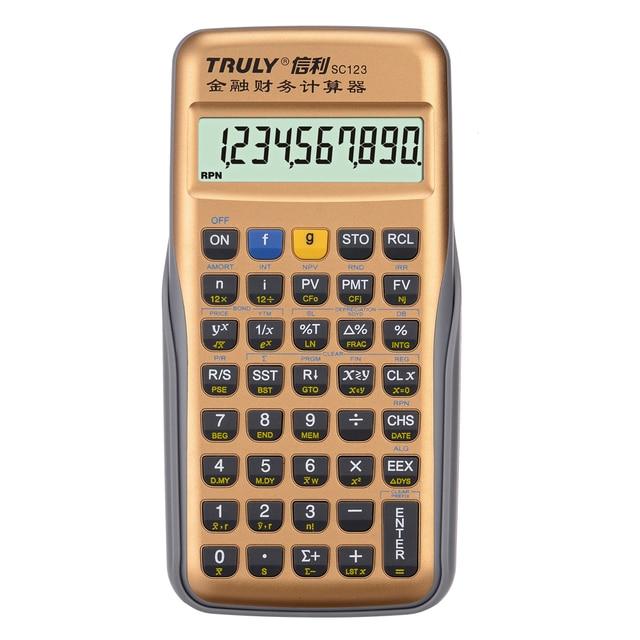 2016 New Truly SC123 Scientific Calculator Financial Calculator CFP