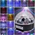 Leadleds Музыка Кристалл Magic Ball RGB 6 Вт * 3 LED Свет Этапа Дискотека Ночной Клуб Вечеринка Стробоскопы DJ Освещения с Дистанционным