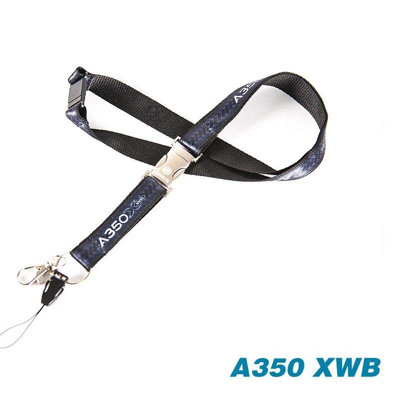 20mm Neck lanyard Dog Whistle Lanyard BLACK ID Card Holder Badge Holder
