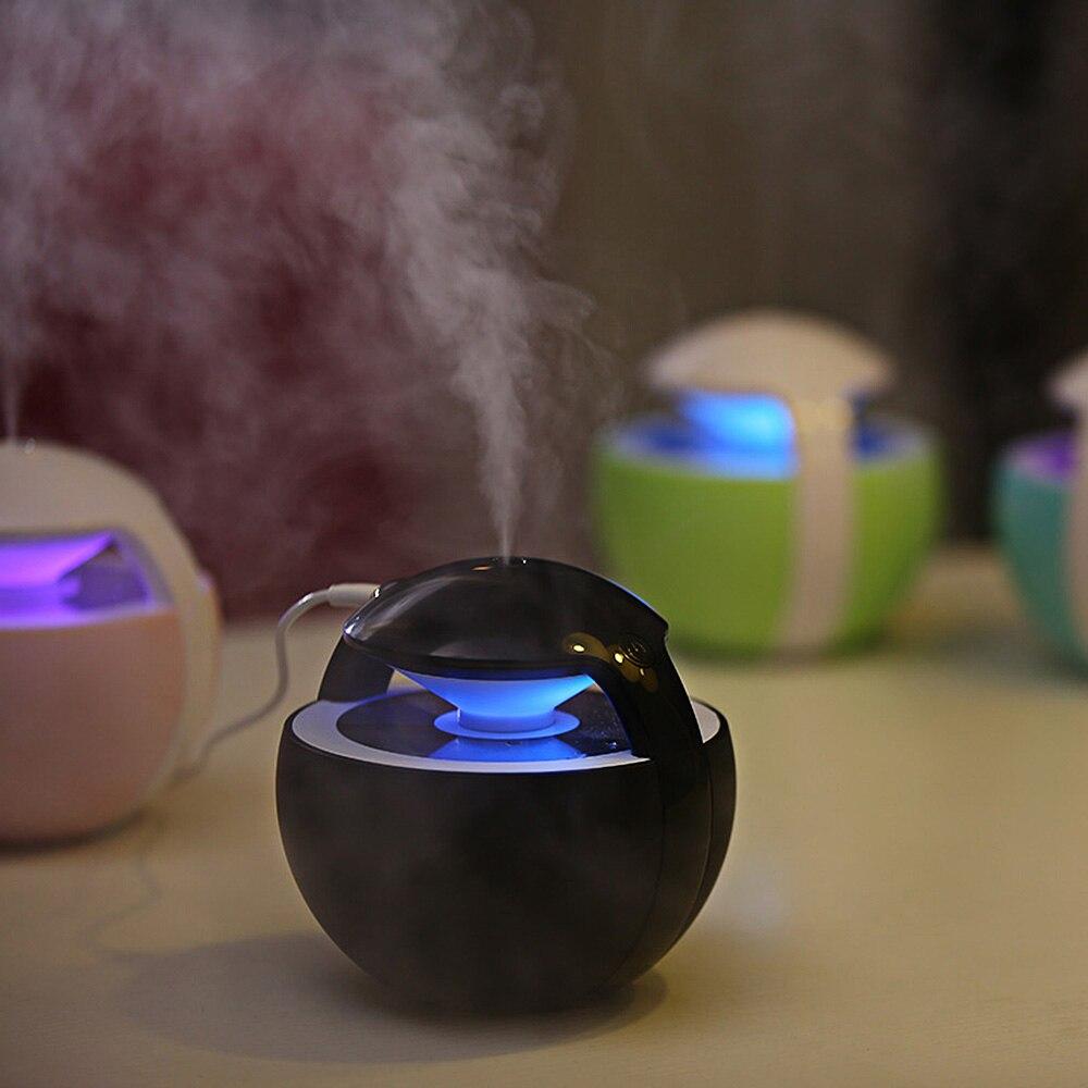 Ledi-220 450 мл Портативный USB Освежители воздуха прохладный туман с Автоматическое отключение Ночные Светильники для автомобиля Офис путешествия