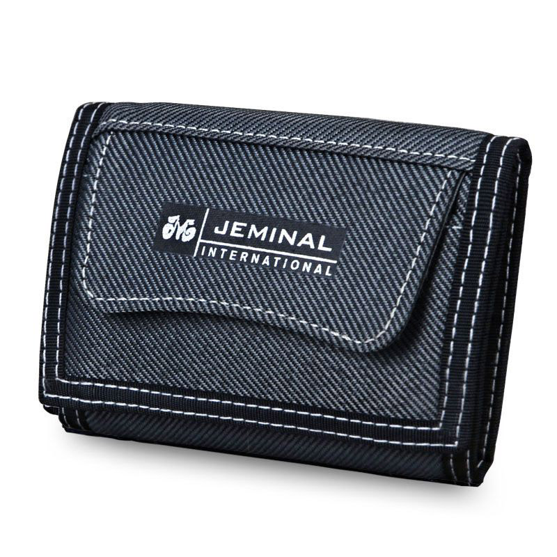 Men Canvas Purse Cards ID Holder Clutch Man Wallets Moneybags Fabric Coin Purse Short Fold Purses Boy Wallet Pocket Bag Notecase