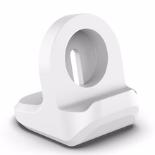 Silicone Charging Stand for iwatch Vertical Charging holder Applicable Apple Watch Charging Stand for iwatch3/4 Universal