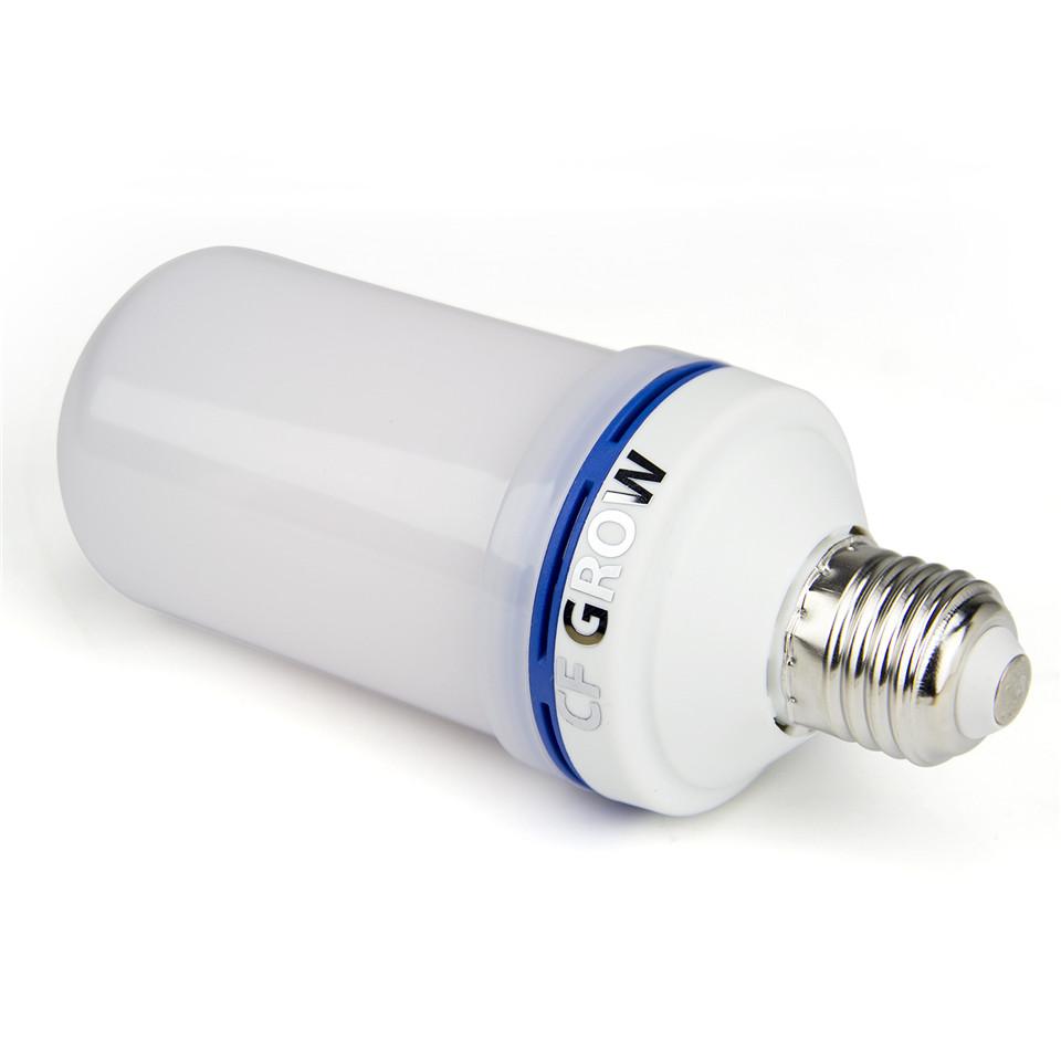 Сид e26 E27 светодиодные эффект plume огня Lamp Сид smd2835 мерцающие декоративные Плайя лампы 1200 к ac85v ~ 265 в
