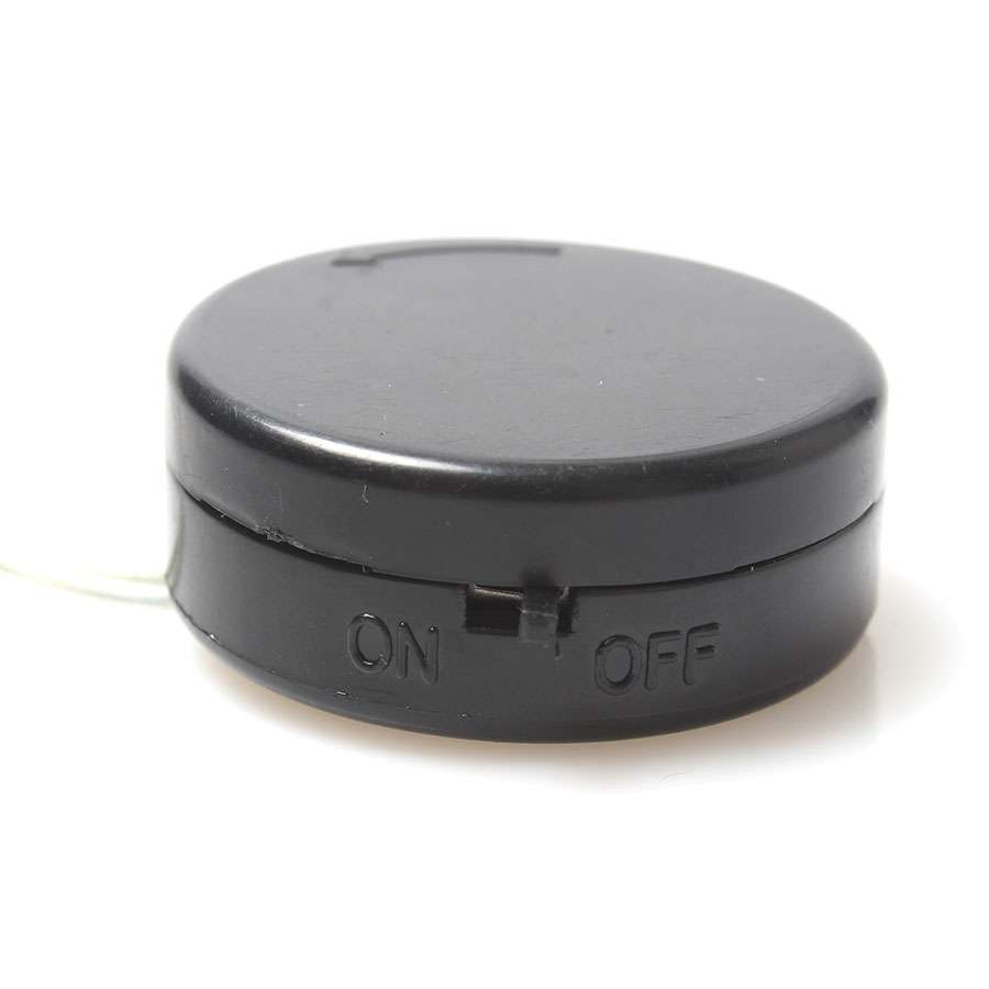 2x3V <font><b>CR2032</b></font> Coin Cell Button <font><b>Battery</b></font> <font><b>Holder</b></font> Case Black <font><b>Wire</b></font> Lead <font><b>With</b></font> ON/OFF Switch image