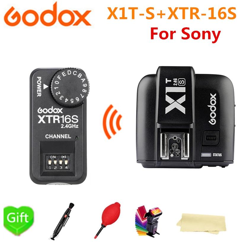 Godox x1r-s 32/canales TTL 1//8000s Inal/ámbrico Remoto Receptor de Flash disparador para Sony C/ámaras receptor x1r-s