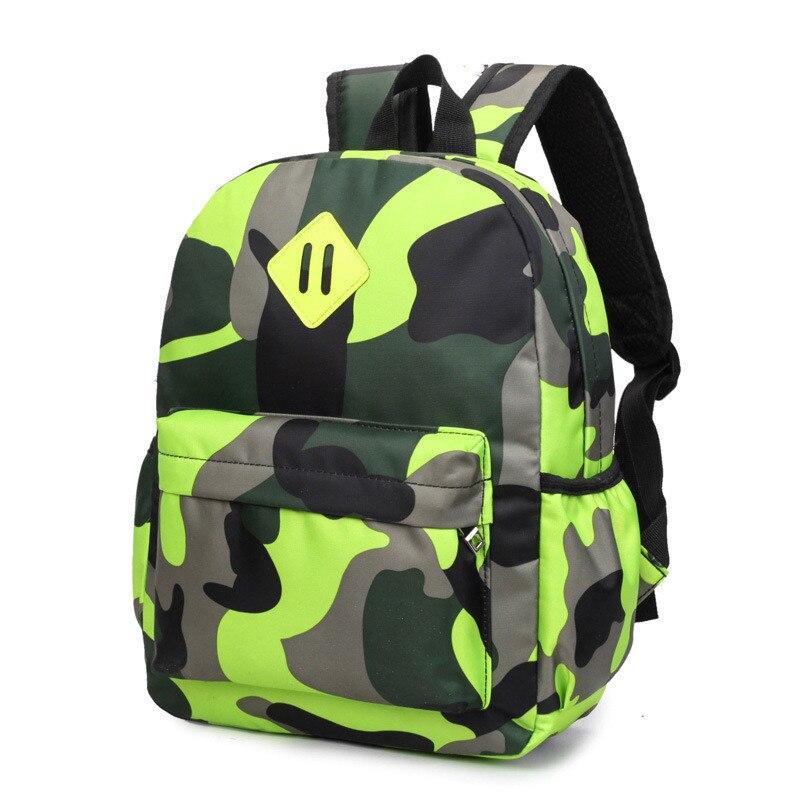 Hot Sale Camouflage Children Backpacks Kindergarten