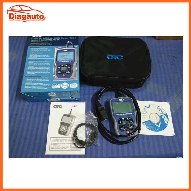 3111pro Obd2 Scanner Trilingual Scan Tool Obd Ii Can Abs Airbag