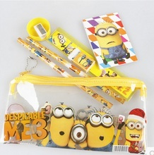 PVC Minions Children Party Supplies with 6 items