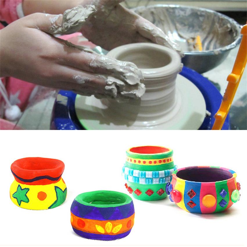 Perfect Arts Craft Discovery Kids Motorized Ceramic Pottery Wheel DIY Pottery  Toy(without Clay)