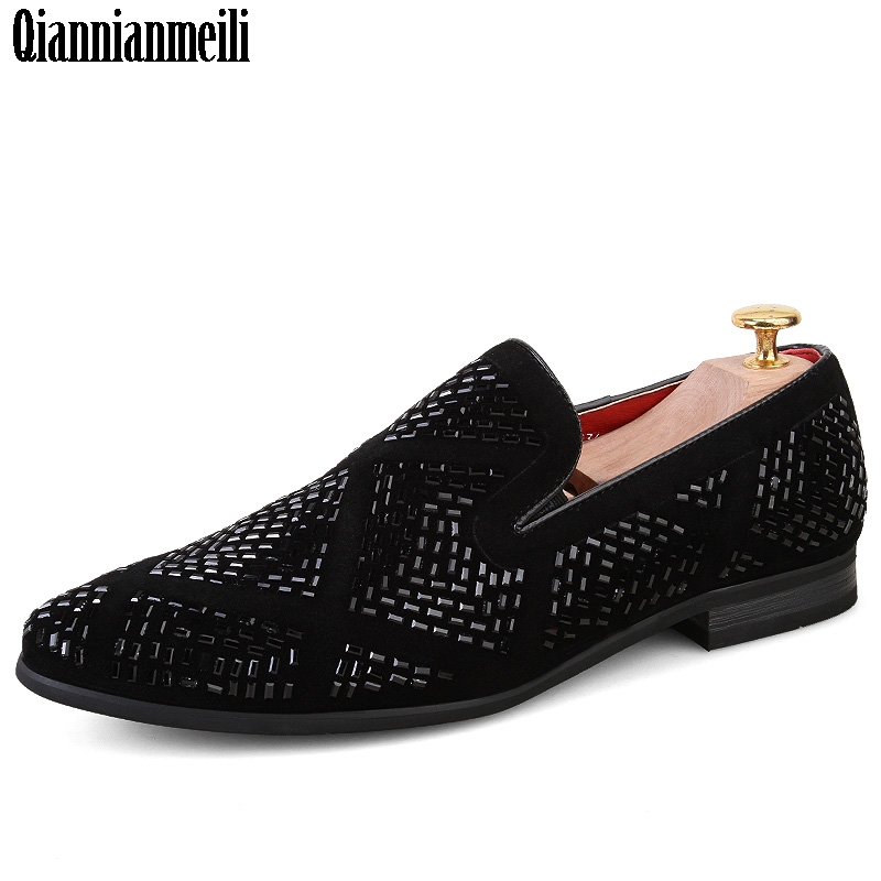 2017 new spike men loafers shoes luxury brand trendy flat footwear studded male patent leather oxford fashion shoes for men cbjsho brand men shoes 2017 new genuine leather moccasins comfortable men loafers luxury men s flats men casual shoes