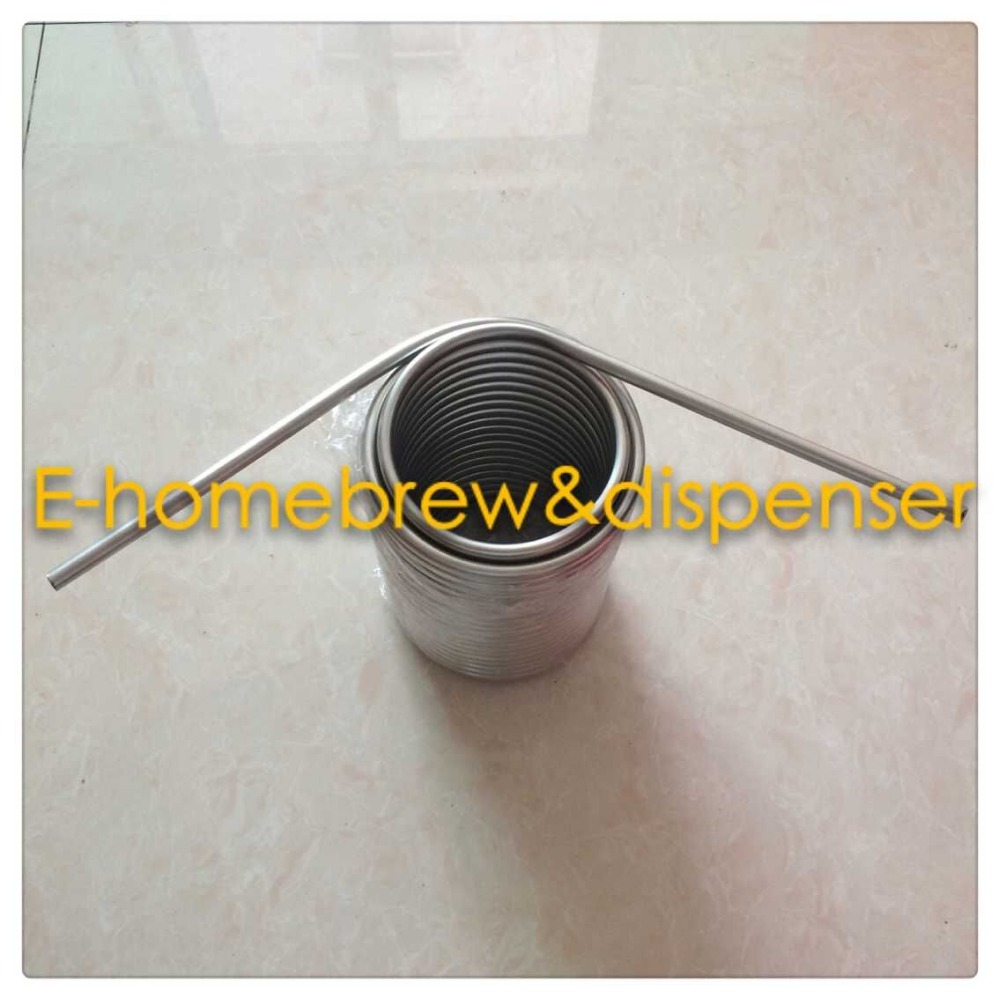 50' Stainless Steel Coil  5/16''  beer cooling  coil for jockey box