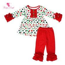 8c12f2f93540d 2018 Hot bambin enfants en gros enfants automne hiver vêtements filles  Kaiya ange Boutique tenues Halloween anniversaire pyjamas.