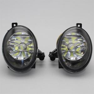 Image 3 - 2pcs Car LED Light For VW Touareg 2011 2012 2013 2014 2015 Car styling Front Bumper LED Car Fog Light LED Fog Lamp
