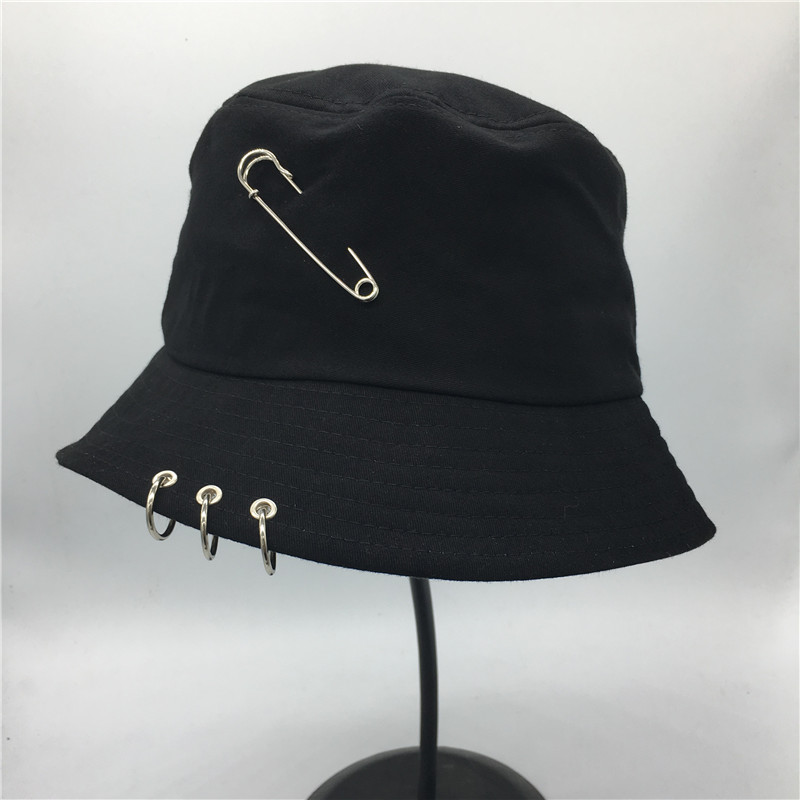 Hot selling 2017 BTS Fashion K POP Iron Ring Bucket Hats popular style cap  100% handmade rings-in Bucket Hats from Apparel Accessories on  Aliexpress.com ... 548dc3dc642c