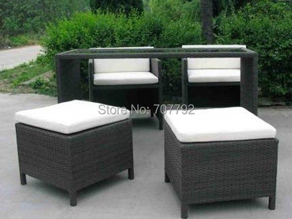 Hot Sale Sgza 0051 Elegant Patio Furniture Rotan Sintetis Di Taman