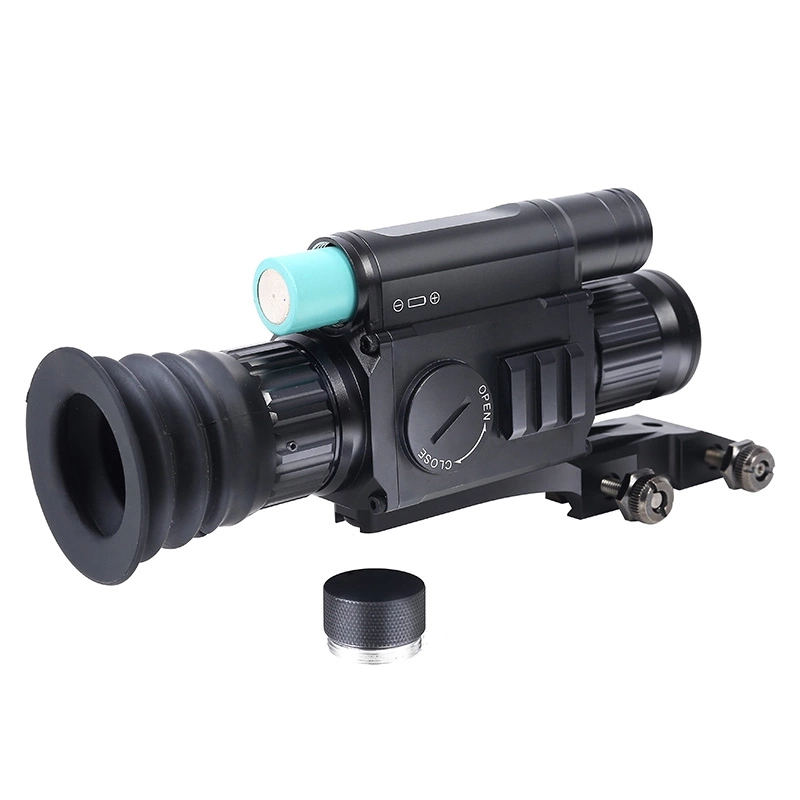 Image 4 - Drop Shipping PARD NV008 digital Night vision Monocular Camera 200M Riflescope Built in IR Red Laser Sight For hunting-in Night Visions from Sports & Entertainment