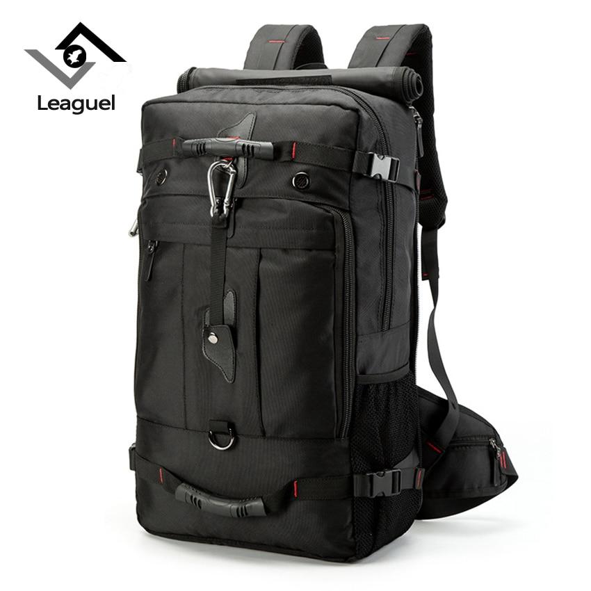 Leaguel NEW Brand Travel Backpack for men Large Capacity Luggage Shoulder Mountaineering Bag Backpacking Men Versatile Bag oxford men backpack luggage bag large capacity versatile 2018 new brand for teens travel bag ml1365