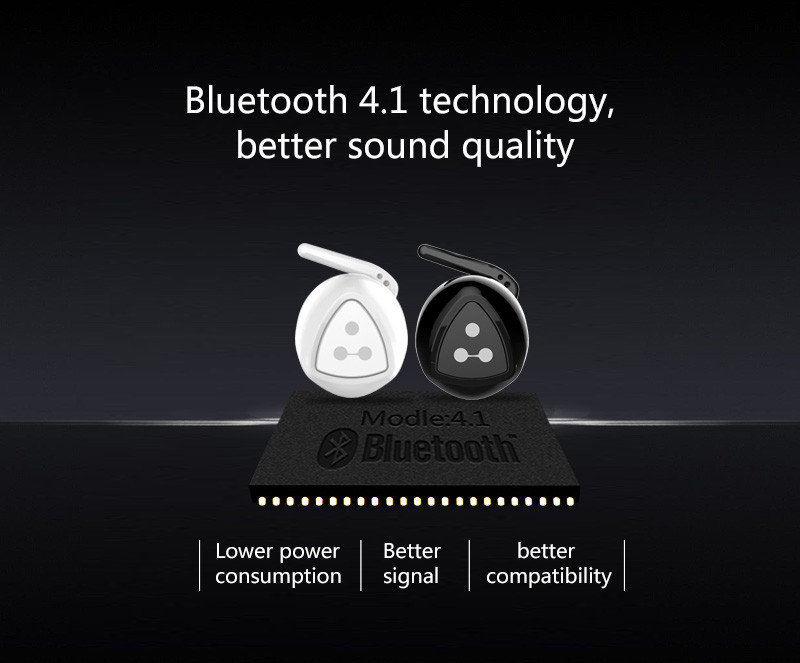 100% Original Syllable D900MINI Bluetooth 4.0 Earphone Duble ears Mini Earphone Twins True Wireless Earphone stereo Earbuds