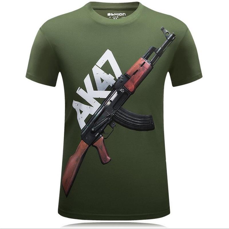 GLOCK  Pistol Men/'s T-Shirt Classic T-Shirt Black Color Sizes S-6XL