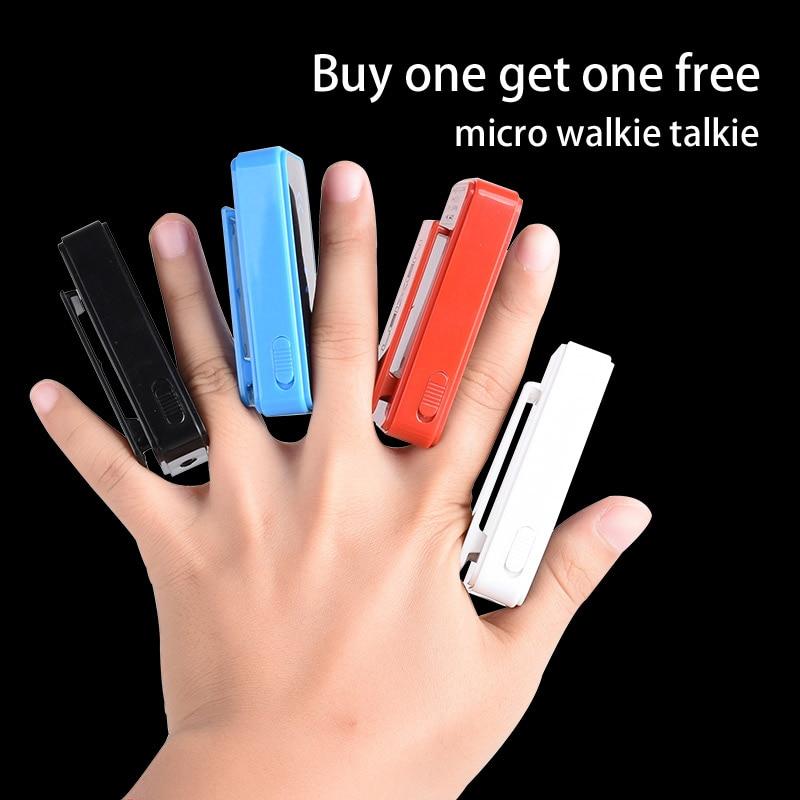 2 κομμάτια Mini Walkie Talkie για το ξενοδοχείο + κομμωτήριο + σαλόνι ομορφιάς + KTV φορητό μικρο μικροσυσσώρευσης Walkie Talkie