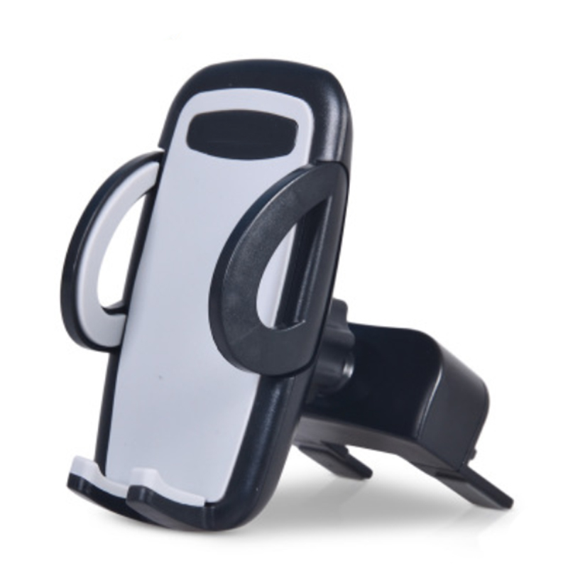 Universal Mobile Phone Car Holder CD Slot & Air Vent Mount Phone Stand Support for iPhone 6 X 8 Plus Xiaomi pocophone f1 Samsung