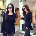Maternity Tops EUR Size Maternity Tees autumn T-shirts womens full sleeve spring Maternity Clothes For Pregnant fashion Shirt