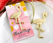 Factory Fast Delivery Wedding Favor Fancy And Feathered Flamingo Bottle Opener New Gift Favors Wholesale