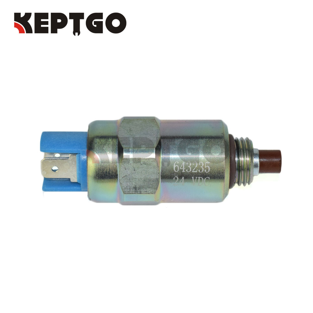 643235 24V Solenoid Valve For JCB 3CX 4CX Perkins Series плоскогубцы jcb jpl005