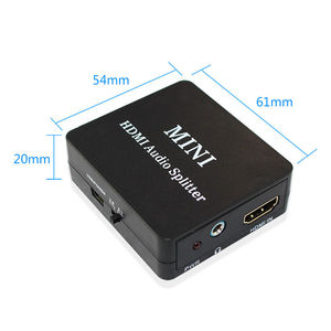Image 5 - HDMI к HDMI Оптический SPDIF HDMI к HDMI + аудио сплиттер, Suppport 5,1 + RCA L/R аудио видео экстрактор конвертер сплиттер адаптер