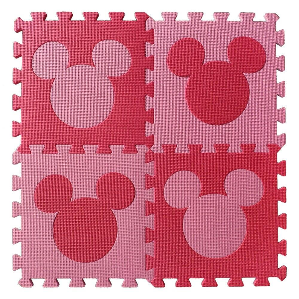 Meitoku baby EVA foam puzzle play mat Trojan horse Interlocking Exercise floor carpet Tiles Rug for