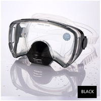 Маска для дайвинга для взрослых  профессиональная антипротивотуманная маска для подводного плавания  GoPro  очки для плавания на море  трубка ...