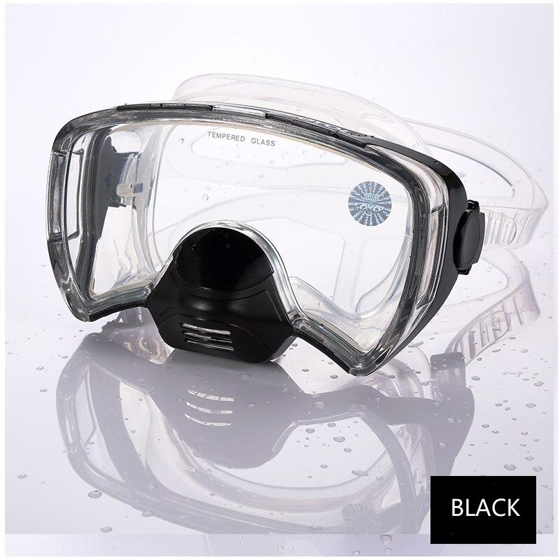 Adultos máscara de mergulho profissional anti nevoeiro mergulho mergulho óculos subaquáticos gopro mar natação snorkel equipamento mergulho