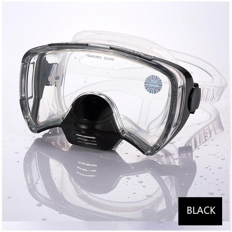 New 2017 Diving Mask Professional anti fog Scuba Mergulho Underwater Goggles for GoPro sea swimming glasses Snorkel diving mask