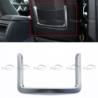 A pair Car Styling for BMW 1 Series E82 E87 F20 2 Series 3 Series 4 Series F32 F33 F36 ABS Rear Seat Back Net Frame Trim S