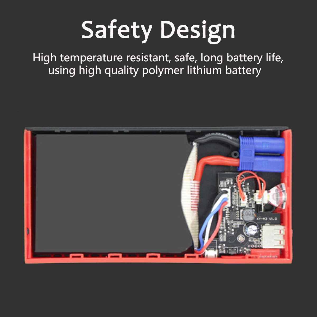 Wielofunkcyjne urządzenie do uruchamiania awaryjnego samochodu 400A Power Bank 12V USB LED przenośne urządzenie do awaryjnego rozruchu akumulatora samochodowego ładowarka urządzenie zapłonowe